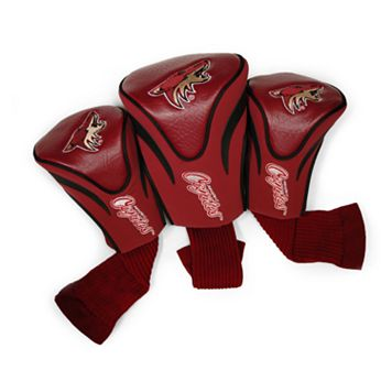 Team Golf Phoenix Coyotes 3-pc. Contour Head Cover Set