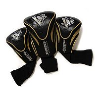 Team Golf Pittsburgh Penguins 3 pc Contour Head Cover Set