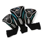 Team Golf San Jose Sharks 3-pc. Contour Head Cover Set