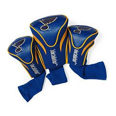 Team Golf St. Louis Blues 3-pc. Contour Head Cover Set