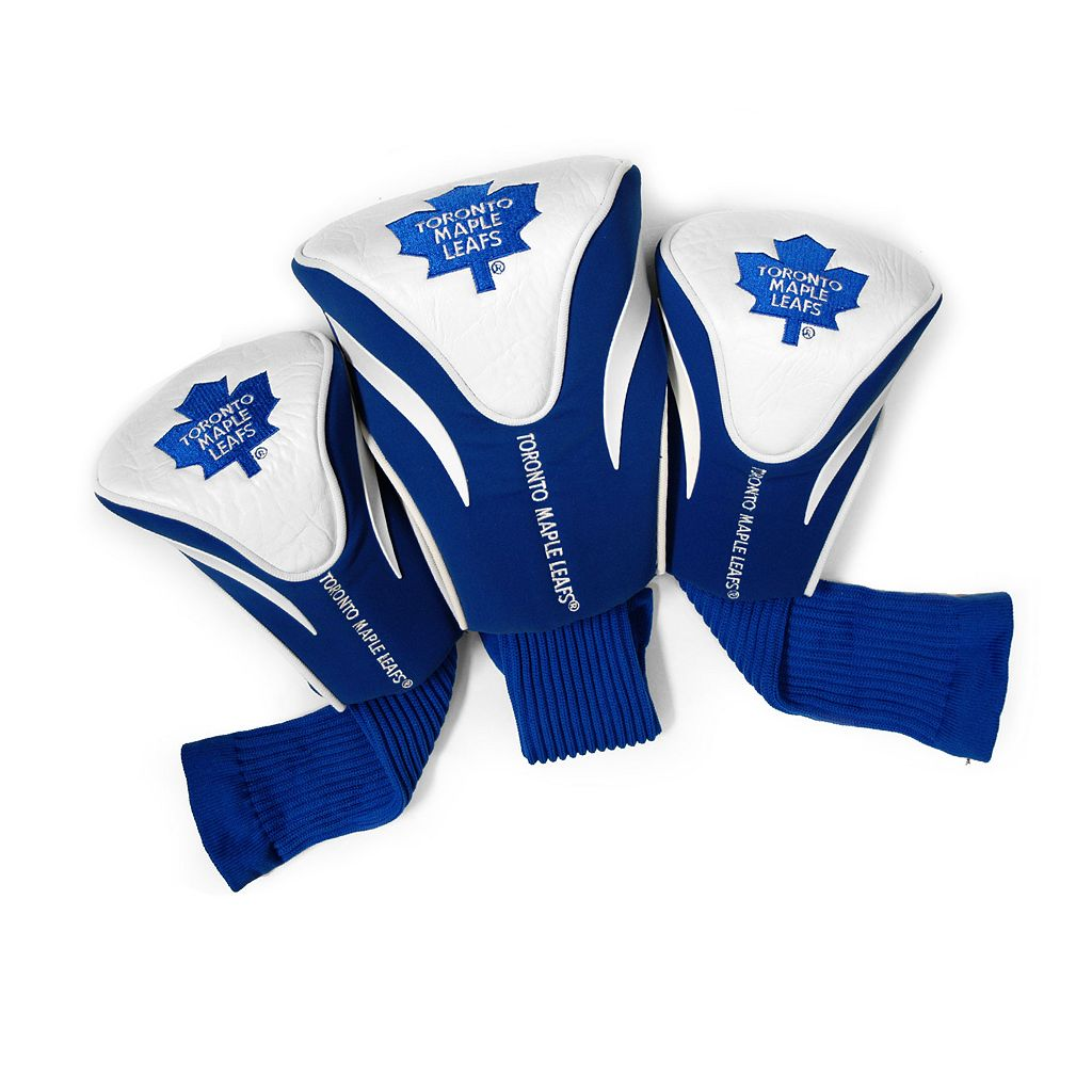 Team Golf Toronto Maple Leafs 3-pc. Contour Head Cover Set