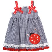 Rare Editions Ladybug Seersucker Sundress - Toddler