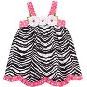 Rare Editions Zebra Sundress - Toddler