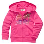 OshKosh B'gosh Tropical Sequined Hoodie - Toddler