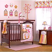 CoCaLo Baby In the Woods 8 pc Crib Bedding Set