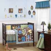 CoCaLo Baby Peek A Boo Monsters 8-pc. Crib Bedding Set