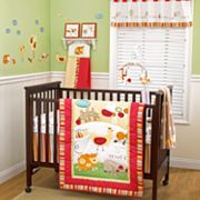 CoCo and Company Baby Farm 4-pc. Crib Bedding Set
