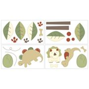 CoCo & Company Chomp & Stomp Removable Wall Decals