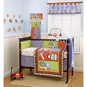 CoCo and Company Roadwork 4-pc. Reversible Crib Bumper