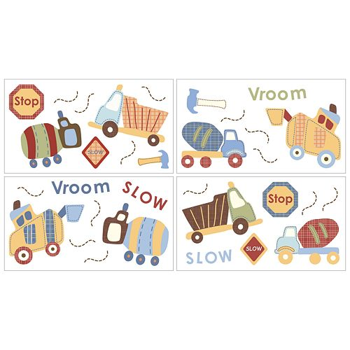 CoCo & Company Roadwork Removable Wall Decals