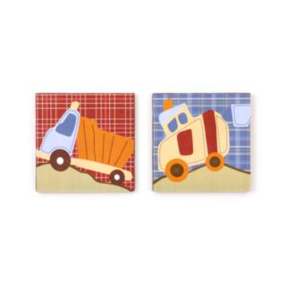 CoCo and Company Roadwork 2-pc. Canvas Wall Art Set