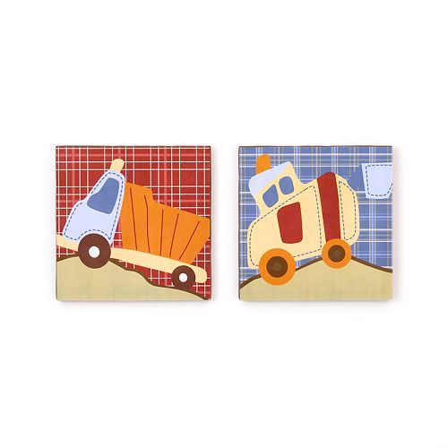 CoCo and Company Roadwork 2-pc. Canvas Wall Art Set