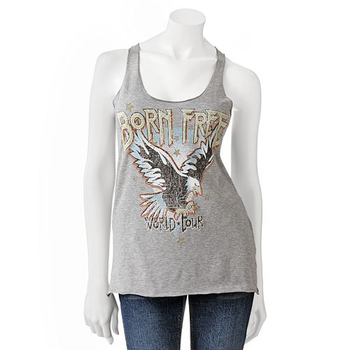 Jerry Leigh Eagle Born Free Patriotic Tank - Juniors