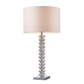 Clear Crystal Table Lamp