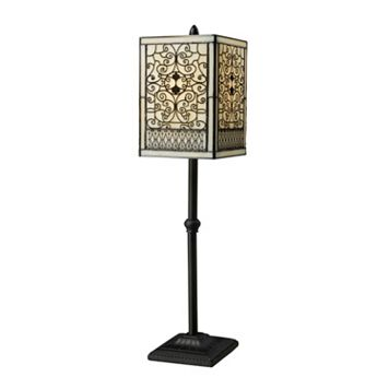 Scrolled Tiffany Table Lamp