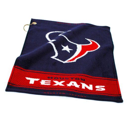 Team Golf Houston Texans Woven Towel
