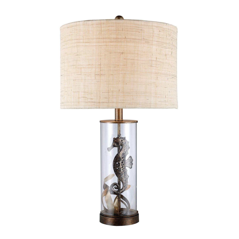 Beautiful Seahorse Table Lamp