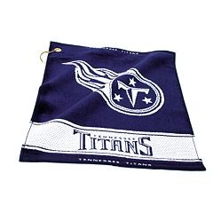 Team Golf Tennessee Titans Woven Towel