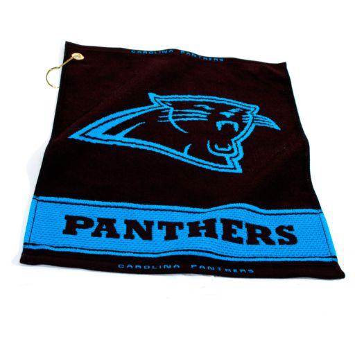 Team Golf Carolina Panthers Woven Towel