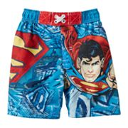 Superman Swim Trunks - Toddler