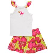 Carter's Tank and Floral Skirt Set - Toddler