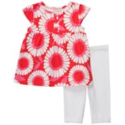 Carter's Floral Babydoll Top and Leggings Set - Toddler
