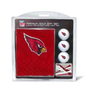 Team Golf Arizona Cardinals Embroidered Towel Gift Set