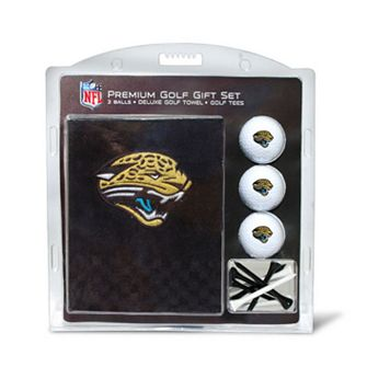 Team Golf Jacksonville Jaguars Embroidered Towel Gift Set