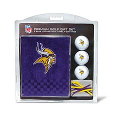 Team Golf Minnesota Vikings Embroidered Towel Gift Set