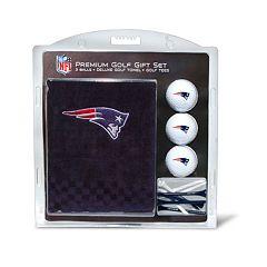 Team Golf New EnglandPatriots Embroidered Towel Gift Set