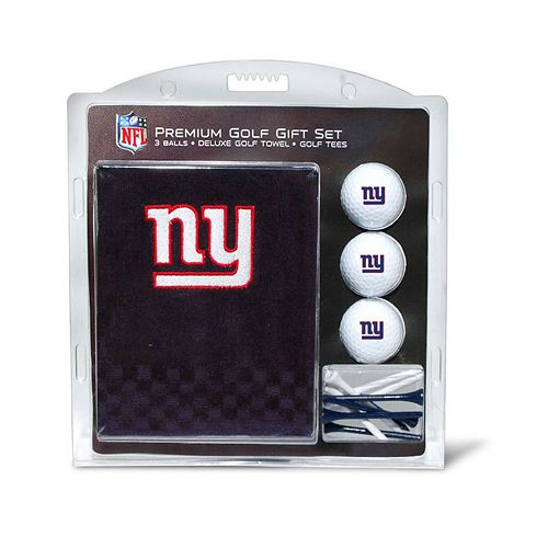 Team Golf New York Giants Embroidered Towel Gift Set