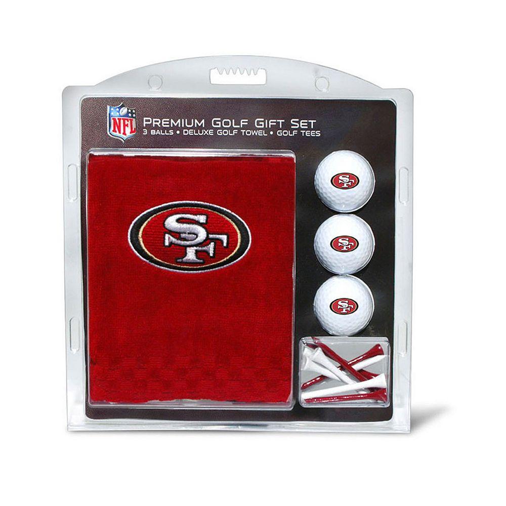 Team Golf San Francisco 49ers Embroidered Towel Gift Set