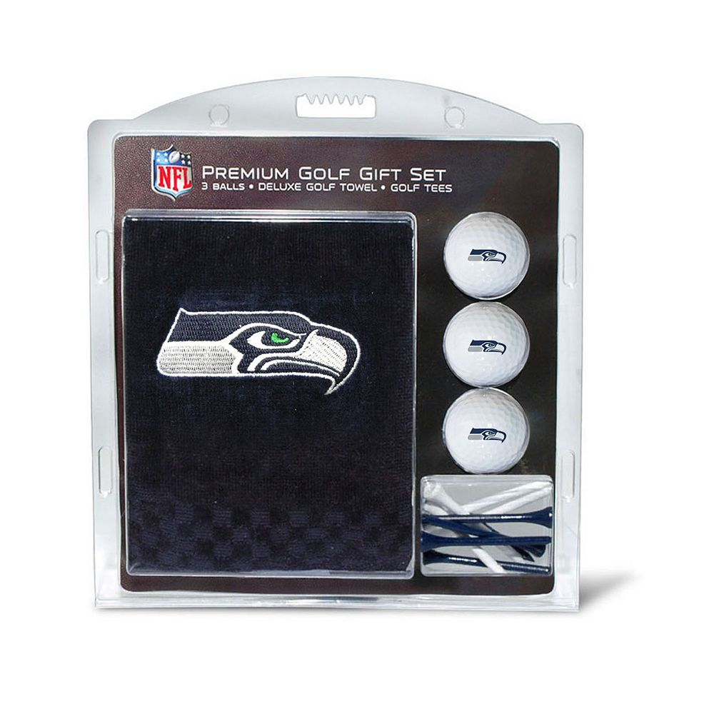 Team Golf Seattle Seahawks Embroidered Towel Gift Set