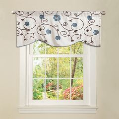 Lush Decor Royal Garden Window Valance - 42' x 18'
