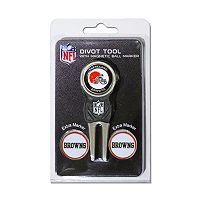 Team Golf Cleveland Browns 4 pc Divot Tool & Ball Marker Set