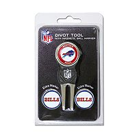 Team Golf Buffalo Bills 4 pc Divot Tool & Ball Marker Set
