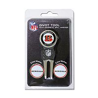 Team Golf Cincinnati Bengals 4 pc Divot Tool & Ball Marker Set