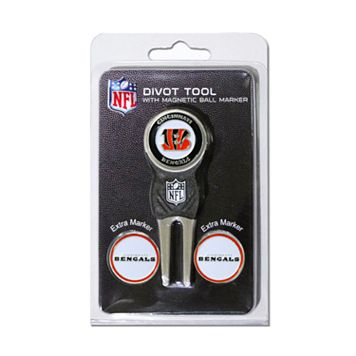 Team Golf Cincinnati Bengals 4-pc. Divot Tool & Ball Marker Set