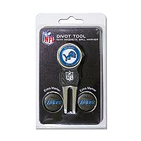 Team Golf Detroit Lions 4 pc Divot Tool & Ball Marker Set