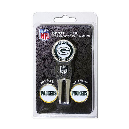 Team Golf Green Bay Packers 4-pc. Divot Tool & Ball Marker Set