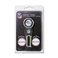 Team Golf Denver Broncos 4 pc Divot Tool & Ball Marker Set