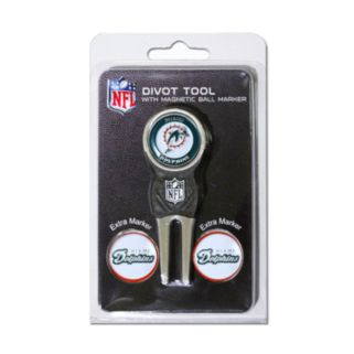 Team Golf Miami Dolphins 4-pc. Divot Tool and Ball Marker Set