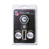 Team Golf New England Patriots 4 pc Divot Tool & Ball Marker Set