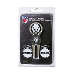 Team Golf Oakland Raiders 4 pc Divot Tool & Ball Marker Set