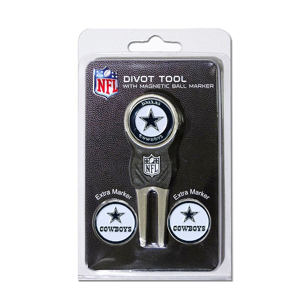 Team Golf Dallas Cowboys 4-pc. Divot Tool & Ball Marker Set