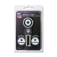 Team Golf Dallas Cowboys 4 pc Divot Tool & Ball Marker Set