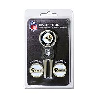 Team Golf St. Louis Rams 4 pc Divot Tool & Ball Marker Set