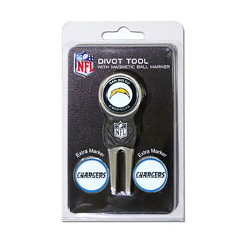 Team Golf San Diego Chargers 4-pc. Divot Tool & Ball Marker Set