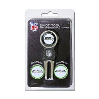 Team Golf Seattle Seahawks 4-pc. Divot Tool & Ball Marker Set