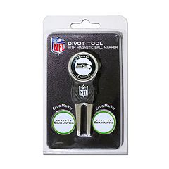 Team Golf Seattle Seahawks 4 pc Divot Tool & Ball Marker Set